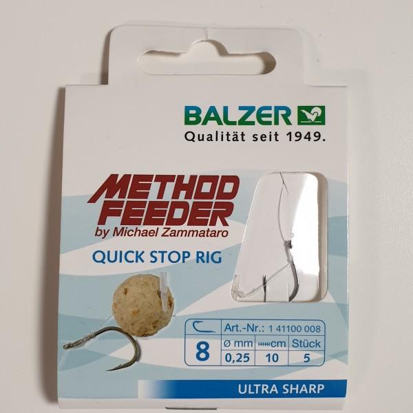 Balzer Method Feeder Vorfach Quick Stop Rig Gr. 8