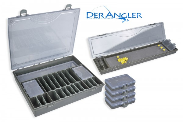 SPRO STRATEGY TACKLE BOX SYSTEM COMPLETE 5+1