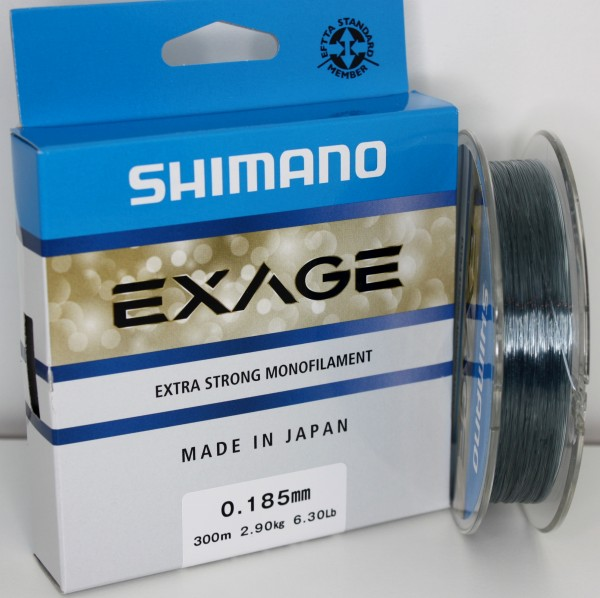 Shimano Exage 300m 0,185mm 2,90kg