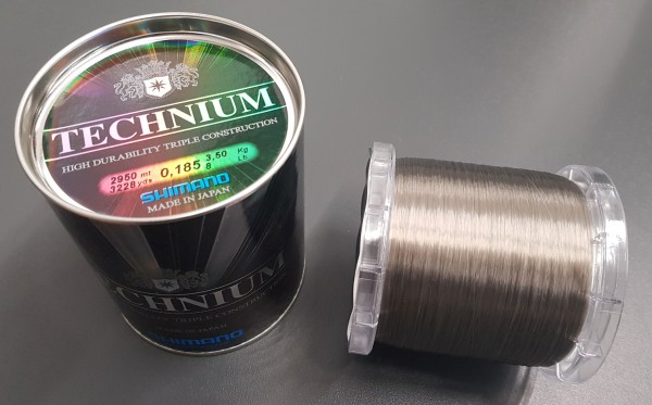Shimano Technium Invisitec 2950m 0,185mm 3,50kg Großspule