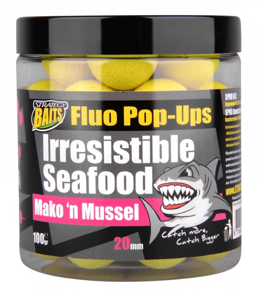 Strategy Baits Pop Up MAKO'N MUSSEL 20mm 100g