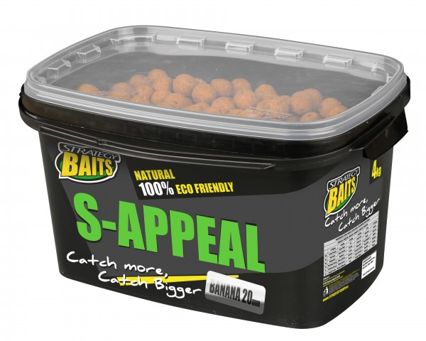 Strategy Baits S-APPEAL 20mm GARLIC 4kg