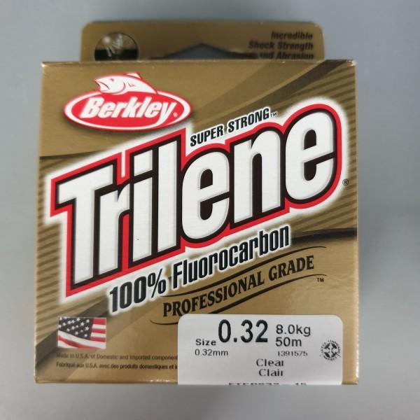 Berkley Trilene 100% Fluorocarbon 0,32mm 8,0kg 50m Clear