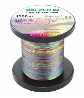 Balzer Iron Line 8 Multicolor Surf 0,15mm 10,7kg je 10m