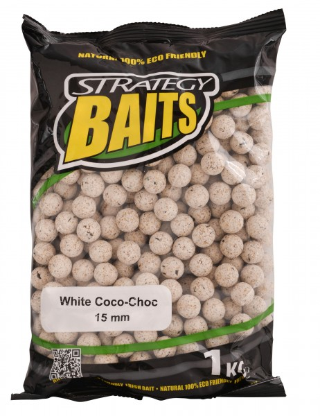 Strategy Baits WHITE COCO-CHOC 15mm / 20mm 1kg 2,5kg
