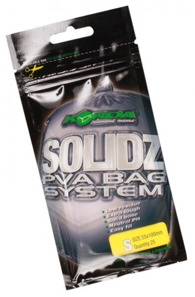 Korda Solidz PVA Bags - Small 25 Stück