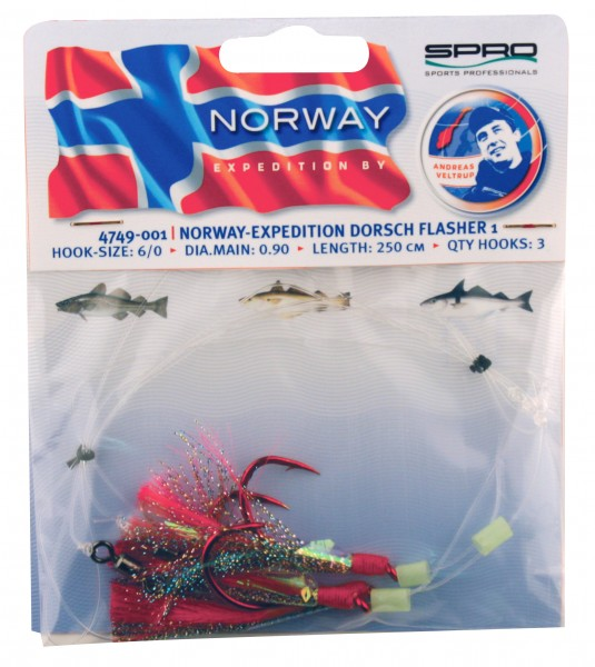 Spro Norway Expedition Dorsch Flasher 1