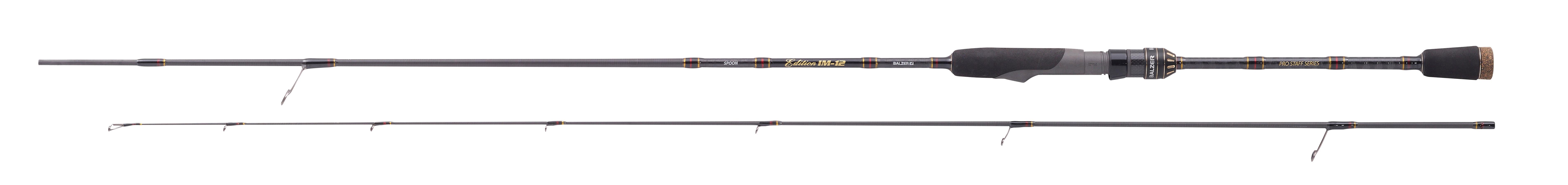 Balzer Edition nel 12 2,12m Pro Staff Spoon 1,82m 2,12m 12 2,42m WG 2-6g MICRO FRECCE Rod e32d71