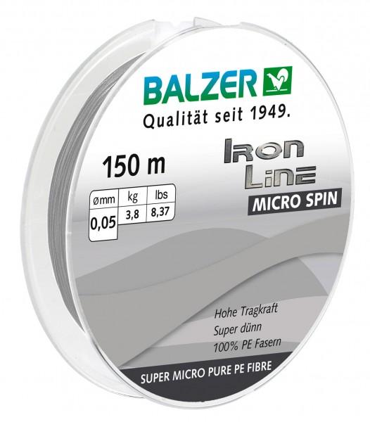 Balzer Iron Line Micro Spin 0,05mm 150m