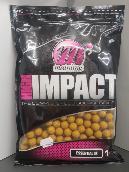 Mainline High Impact Boilies Essential I.B. 16mm, 1 kg