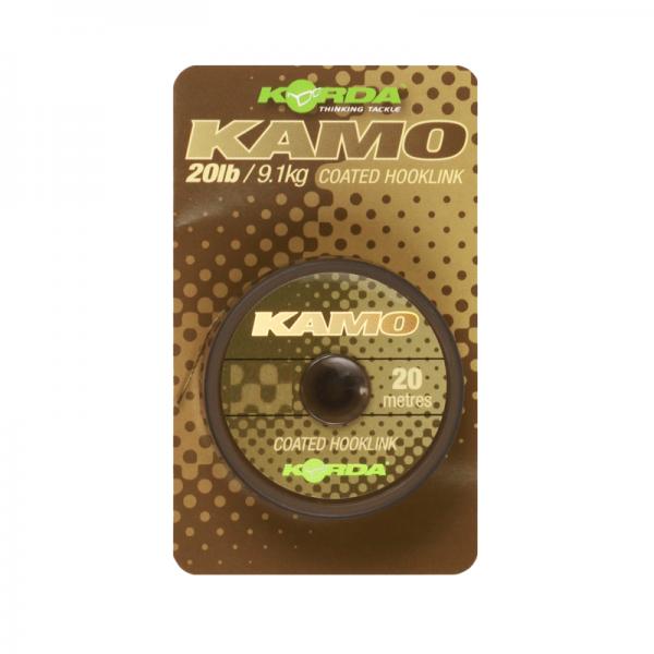 Korda Kamo coated Hooklink 30lb 13,6kg 20m