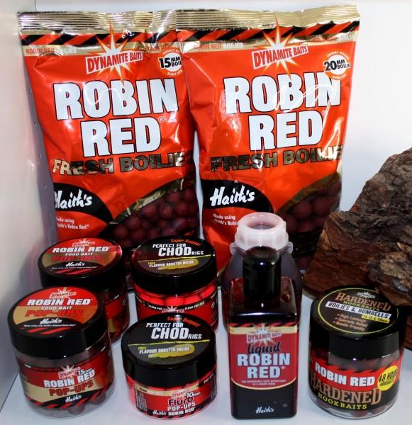 Dynamite Baits Robin Red Boilies, Dips, Pop Ups, Liquide