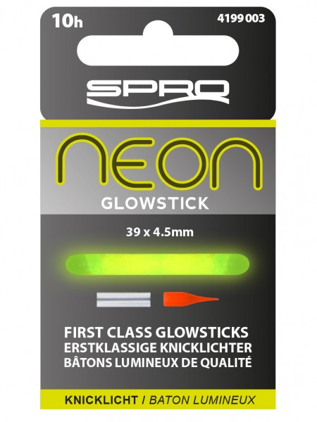 Spro Neon Glow Stick Green 39x4,5mm Grün