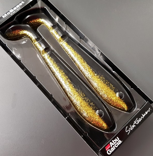 Abu Garcia McBeast 26cm Black Gold Golden Shiner