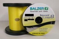 Balzer Iron Line 8 Yellow Gelb 10m 0,08 0,10 0,12 0,14 0,16 0,18 0,21 0,24 0,24 0,30mm