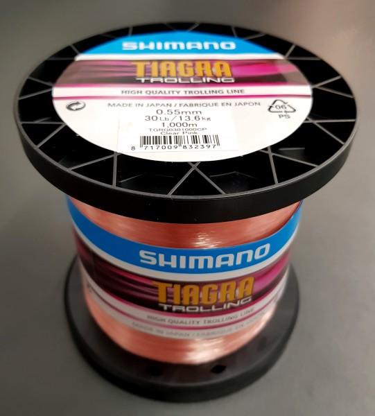 Shimano TIAGRA TROLLING 0,55mm 13,6kg 30LB 1000M CLEAR PINK