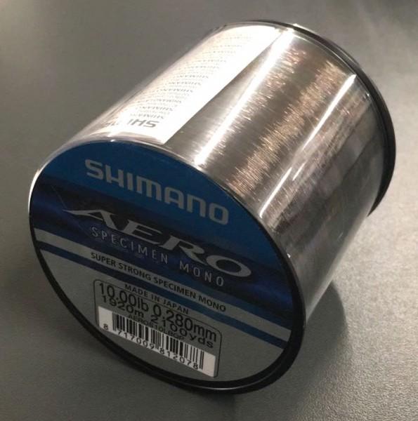 Shimano Aero Specimen QP 10lb 0,28mm 1920m