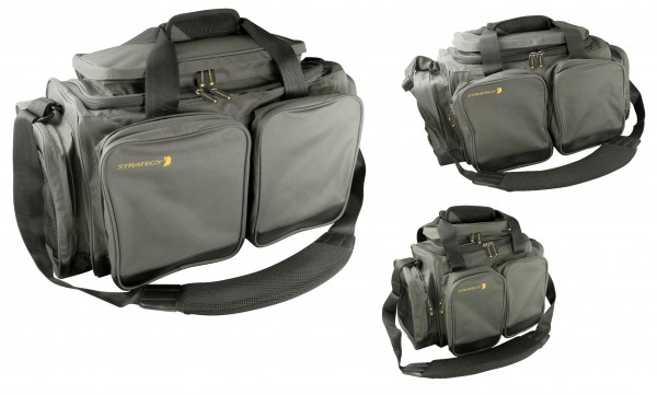 STRATEGY CARRY-ALL M 600D PVC DARK GREEN