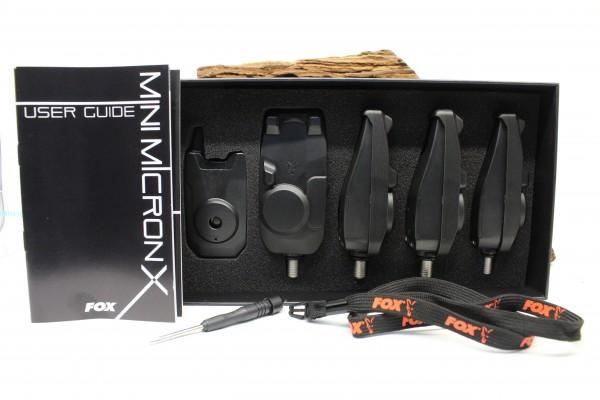 Fox Mini Micron® X Presentation Set 2 Rod 3 Rod 4 Rod oder einzeln