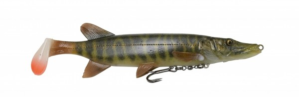 Savage Gear Pike Shad 20cm 65g Firetiger Striped Perch Schleppköder
