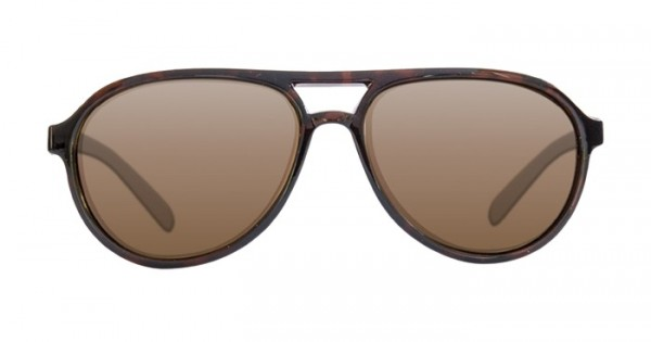 Korda Sunglasses Aviator Tortoise Frame Brown Lens