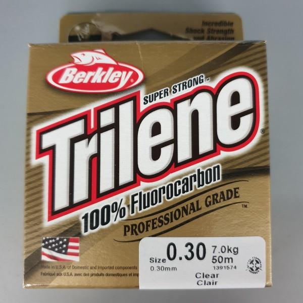 Berkley Trilene 100% Fluorocarbon 0,30mm 7,0kg 50m Clear