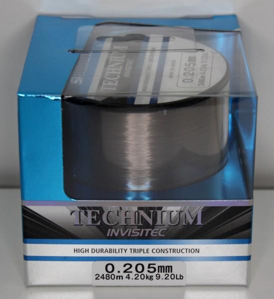 Shimano Technium Invisitec Großspule 0,185mm - 0,405mm