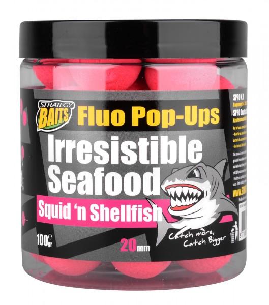 Strategy Baits Pop Up SQUID'N SHELFISH 20mm 100g