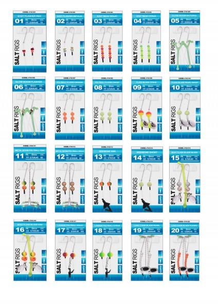 Spro Salt Rig´s Brandungsvorfächer 20 verschiedene Modelle