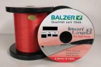 Balzer Iron Line 8 Pro Stuff Rot 10m Red 8 Braid 0,08 0,10 0,12 0,14 0,16 0,18mm