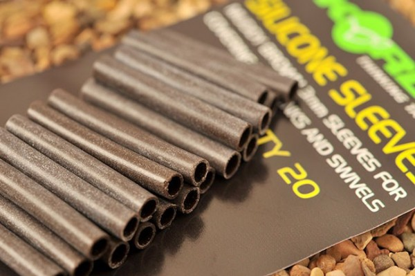 Korda Silicone Sleeves - Muddy Brown