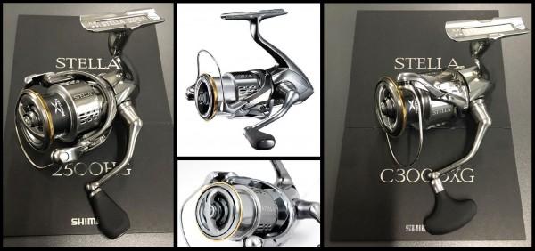 Shimano Stella FJ 1000 2500 C3000 3000 4000 C5000 5000 XG HG