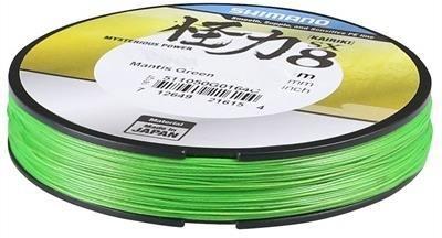 Shimano Kairiki PE 0,18mm Mantis Green 14.0kg 10m