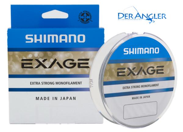 Shimano Exage 150m 0,205mm 3,4kg ABVERKAUF