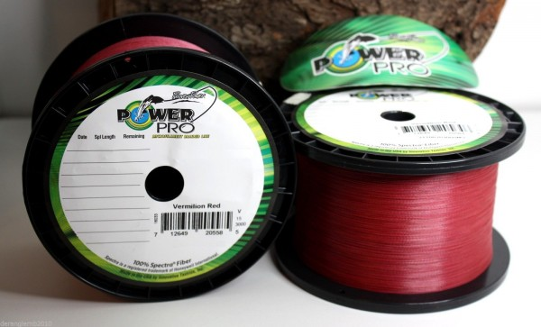 Power Pro Vermilion Red 10m