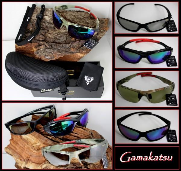 Gamakatsu G-GLASSES Polarisationsbrillen Cools Neo Wild mit Etui