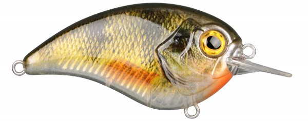 Spro IKIRU FLAT CRANK65 6,5cm 14g YELLOW PERCH