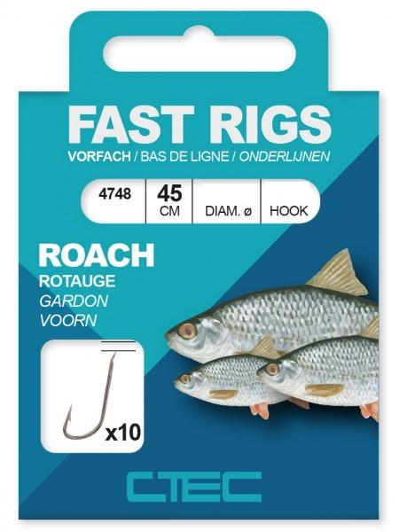 Spro C-Tec Roach Rotauge gebundene Zielfischhaken Gr. 10 12 14 16 18 45cm