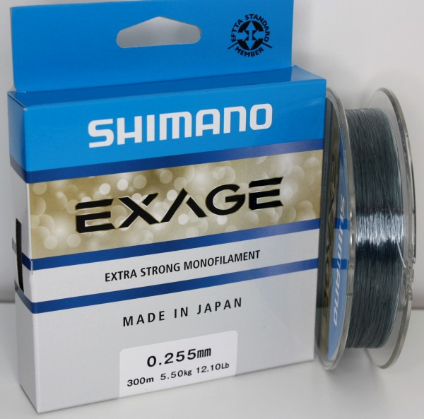 Shimano Exage 300m 0,255mm 5,50kg