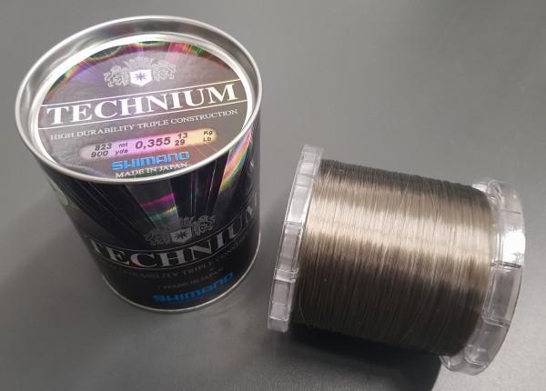 Technium Invisitec 823m 0,355mm 13kg Großspule