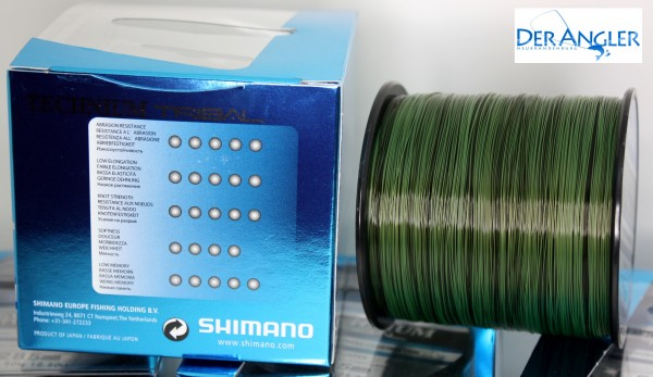 Shimano Technium Tribal 7,5kg 1250m 0,285mm PB