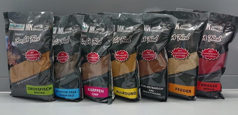 BALZER Matze Koch Booster Food Grundfutter 1-5kg