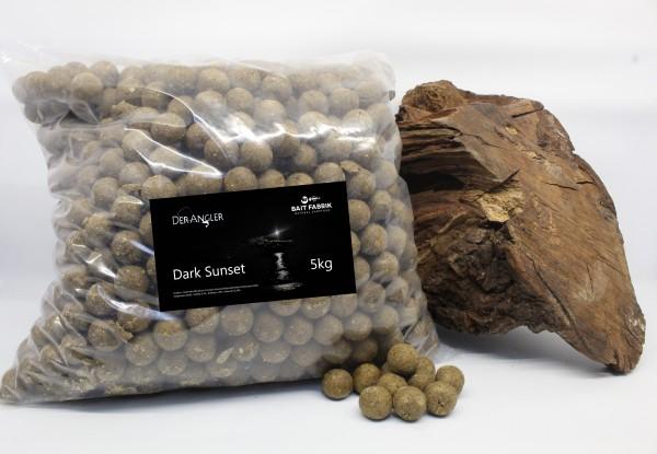 Der Angler Dark Sunset Boilie 20mm 5kg Made by Bait Fabrik