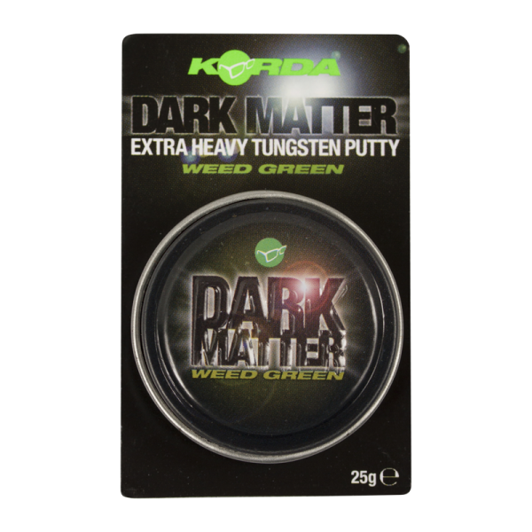 Korda Dark Matter Tungsten Rig Putty Weed 25g
