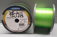 Shimano NEW Kairiki VT PE 0.20mm Mantis Green 17.1kg 10m 8 fach geflochten