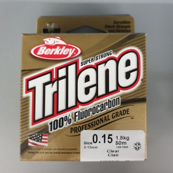 Berkley Trilene 100% Fluorocarbon 0,15mm 1,8kg 50m Clear
