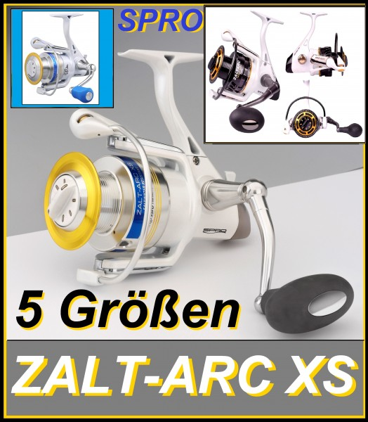 Spro ZALTARC 730 740 745 750 75 746 748 HD 5BB+1NB+1PB ALU SPOOL