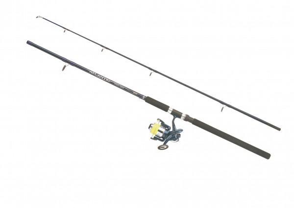 Balzer Combo Atlantic Pilk Rute 2,40m Pilkrolle mit Schnur