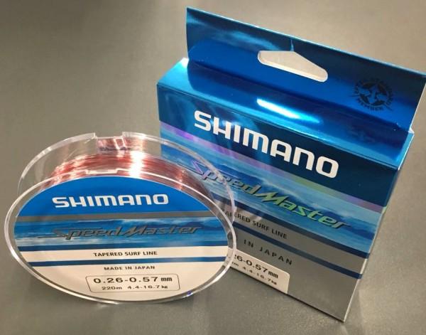 Shimano Speedmaster Tapered Surf Line 220m 0,26mm - 0,57mm