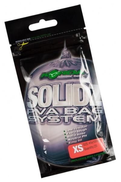 Korda Solidz PVA Bags - Xtra Small 25 Stück